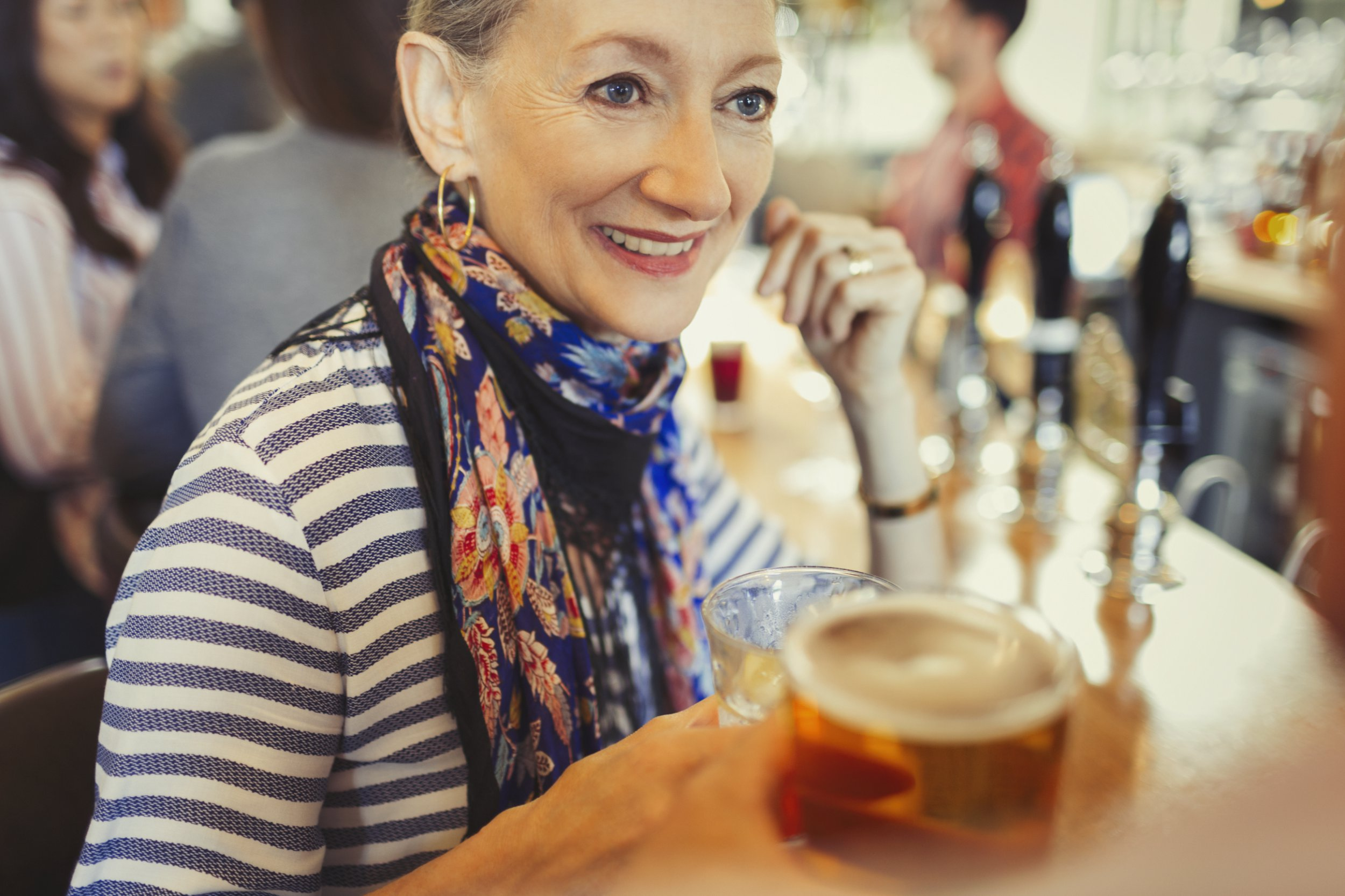 'Don't give up drinking when you get older' if you want to decrease chance of dementia