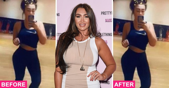 Lauren Goodger exposes own Photoshop fail