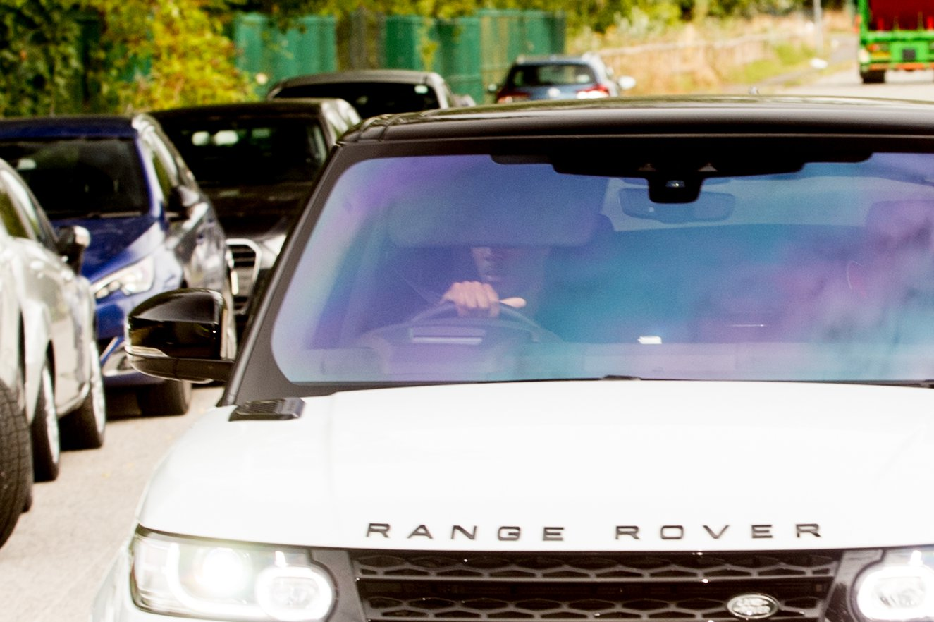 Anthony Martial in a car driving to Manchester United's AON training complex in Carrington. Friday 3rd August 2018 Disclaimer: While Cavendish Press (Manchester) Ltd uses its' best endeavours to establish the copyright and authenticity of all pictures supplied, it accepts no liability for any damage, loss or legal action caused by the use of images supplied. The publication of images is solely at your discretion. For terms and conditions see http://www.cavendish-press.co.uk/pages/terms-and-conditions.aspx