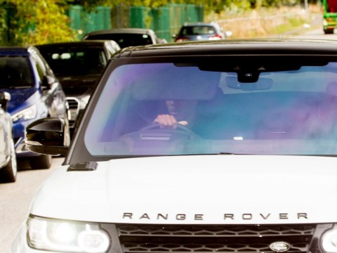 Anthony Martial arrives at Manchester United training ahead of tense showdown with Jose Mourinho