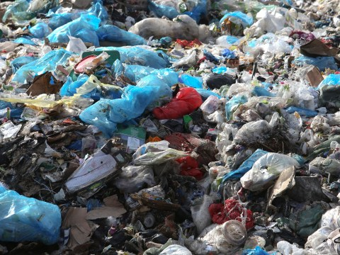 Two-thirds of plastics are still ending up in landfill