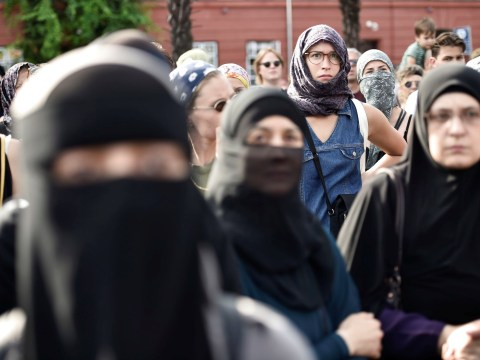 First woman fined for violating Denmark's new burka ban