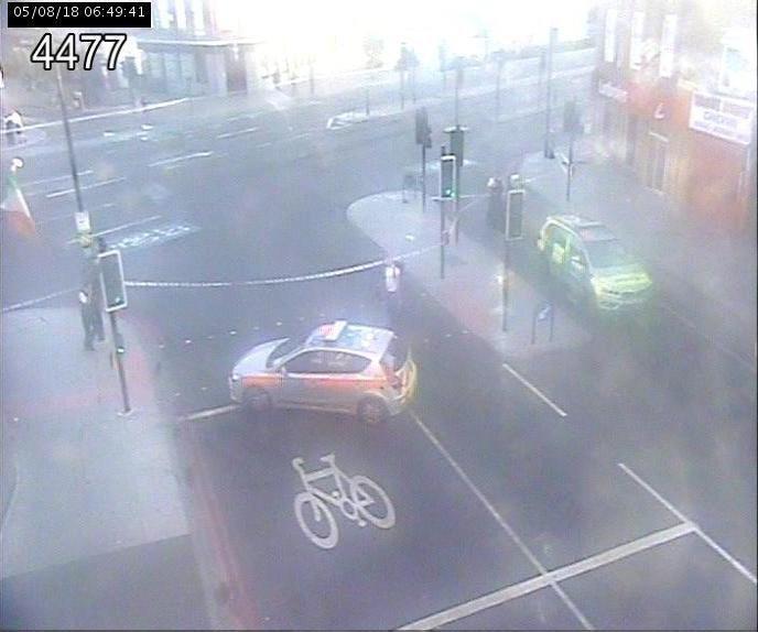 Hit and run death in London METRO GRAB taken from: https://twitter.com/TfLTrafficNews/status/1025986656447463425 Credit: TFL Traffic News/Twitter
