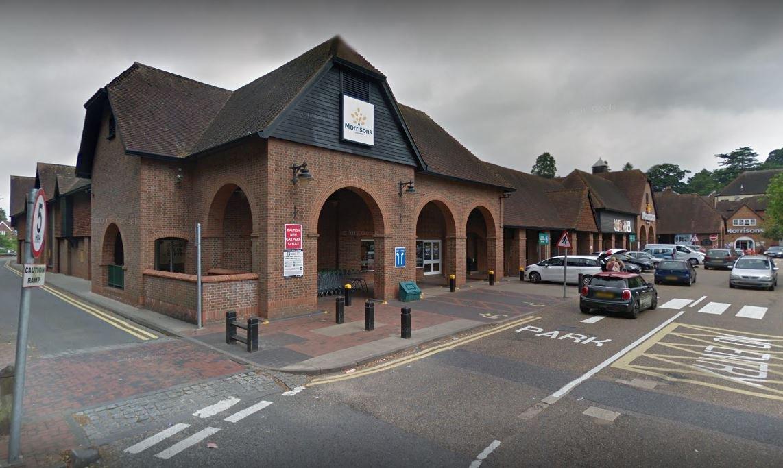 Morrison's in Reigate, Surrey
