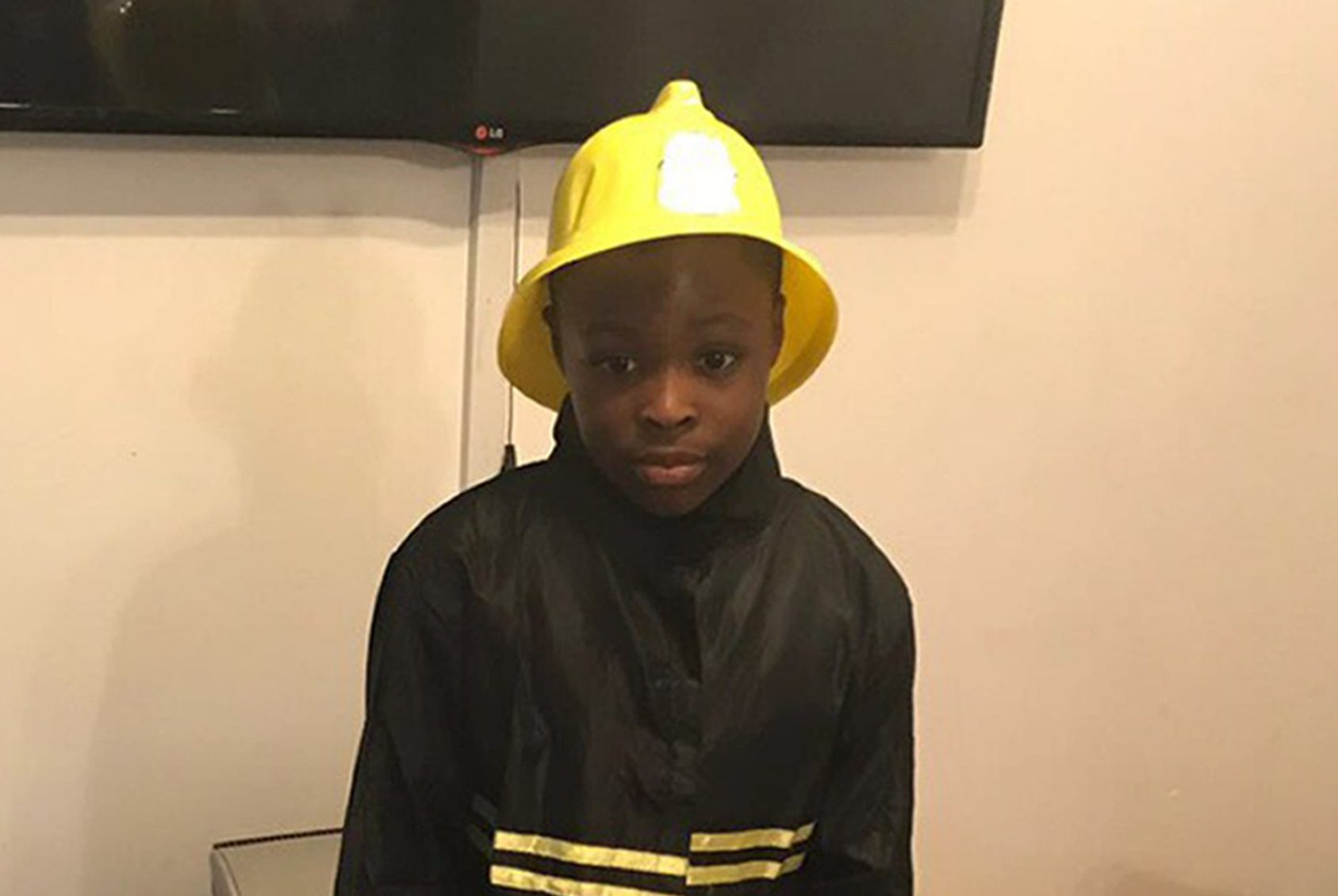 Undated family handout photo of Joel Urhie, released at the scene, who was named by his father, John, as the seven year old boy who died in a house fire on Adolphus Street, Deptford, south-east London. PRESS ASSOCIATION Photo. Issue date: Tuesday August 7, 2018. See PA story FIRE Deptford. Photo credit should read: Family handout/PA Wire NOTE TO EDITORS: This handout photo may only be used in for editorial reporting purposes for the contemporaneous illustration of events, things or the people in the image or facts mentioned in the caption. Reuse of the picture may require further permission from the copyright holder.