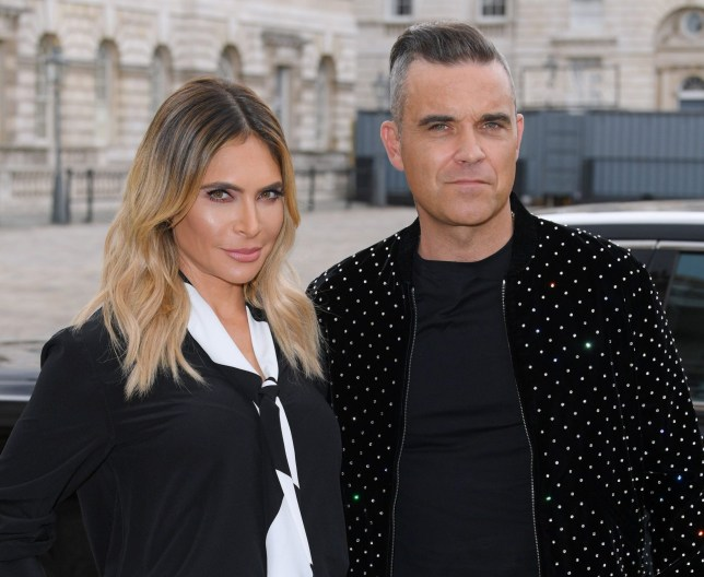 Mandatory Credit: Photo by David Fisher/REX/Shutterstock (9764122m) Ayda Williams and Robbie Williams 'The X Factor' TV show launch, Series 15, Somerset House, London, UK - 17 Jul 2018