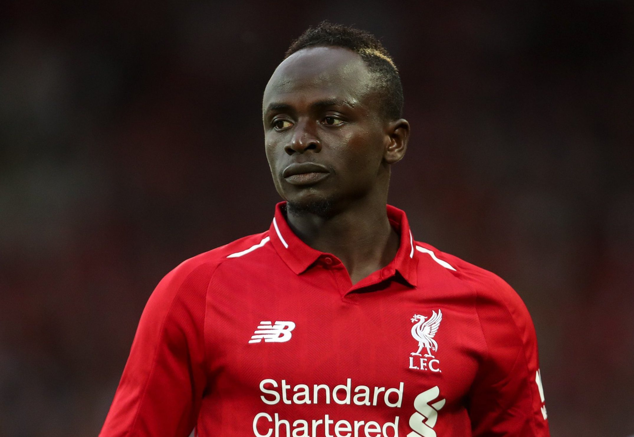 LIVERPOOL, ENGLAND - AUGUST 07: Sadio Mane of Liverpool during the pre-season friendly between Liverpool and Torino at Anfield on August 7, 2018 in Liverpool, England. (Photo by Robbie Jay Barratt - AMA/Getty Images)
