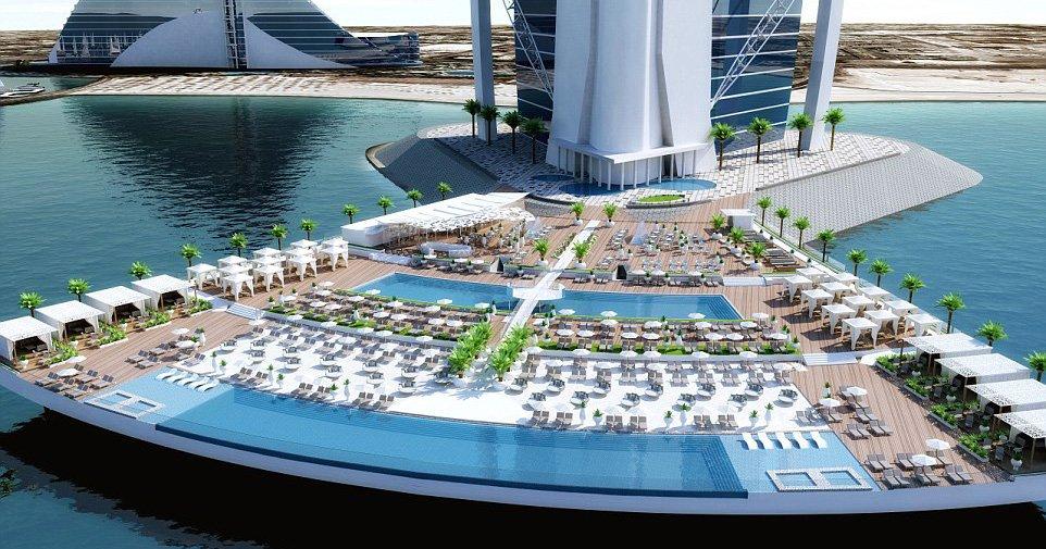 Dubai feature Picture: The Terrace at the Burj al Arab Credit: Burj al Arab