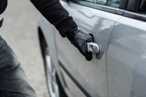 Areas with the highest levels of car theft in the UK