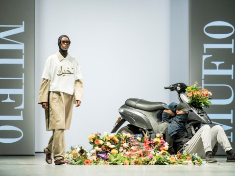 Danish designer puts on fashion show protesting burka ban