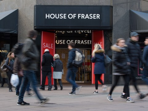 Which House of Fraser stores are closing as administration is announced?