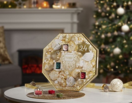 Here's a sneak peak at this year's Yankee Candle advent