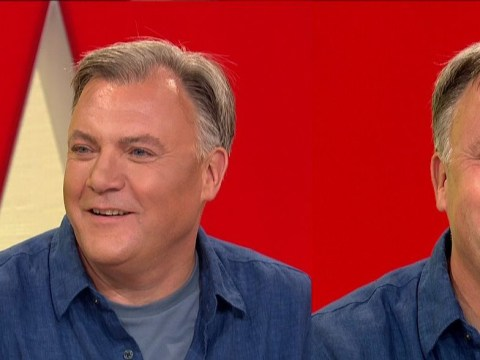 Ed Balls getting contoured on Loose Women is a stroke of genius and all we can do is bow down