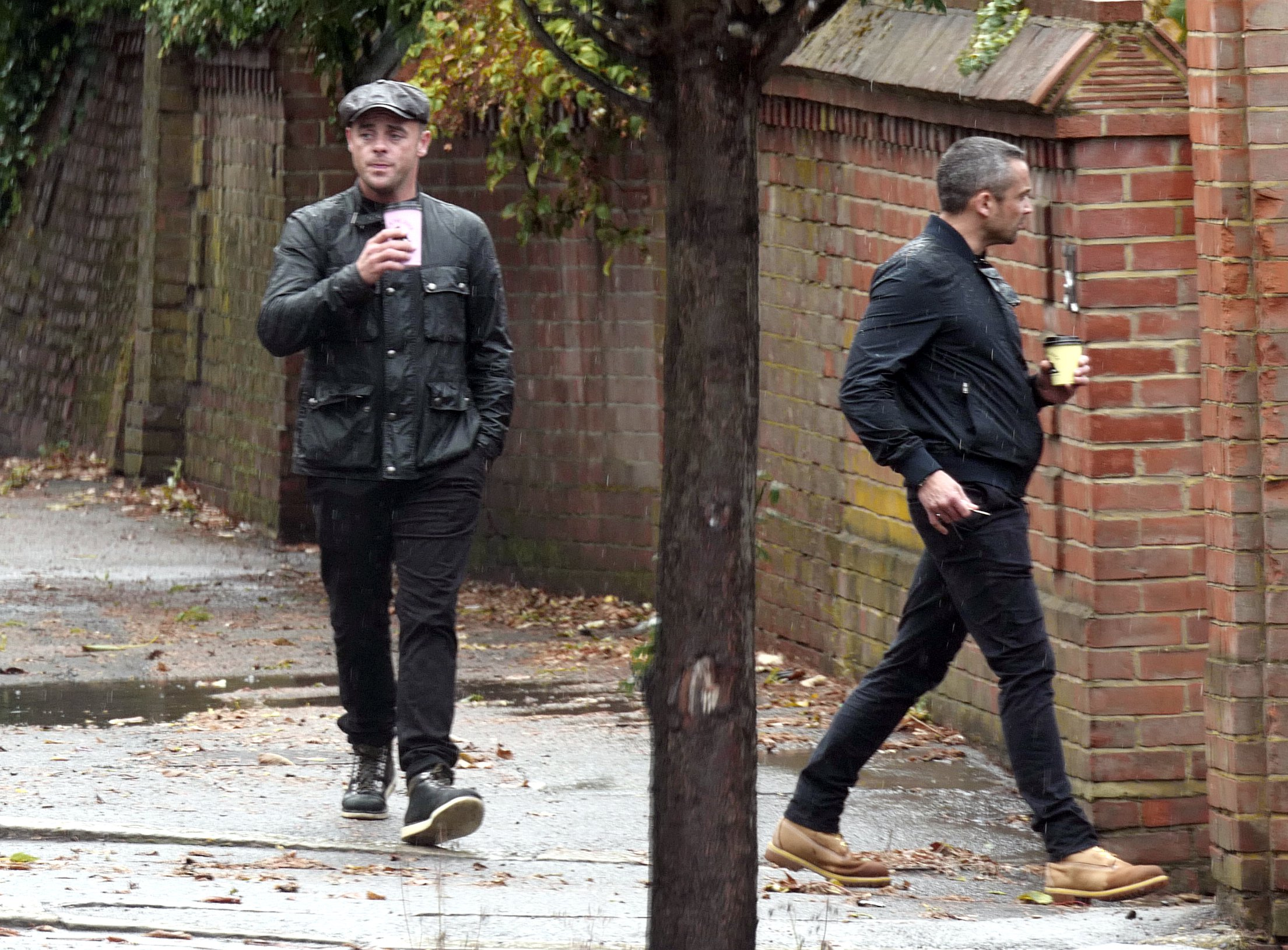 **** NO BYLINE, DO NOT CREDIT **** Ant McPartlin in south west London Taken on: 10/08/18