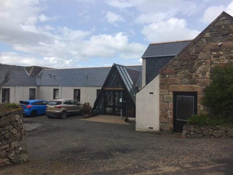 CASCADE NEWS PIX - PIC shows the Muirhead Care Home in Alford, Aberdeenshire, which has been ordered to close by a court order after patients were tied to chairs with belts in 'extremely dangerous' and 'unacceptable' conditions.