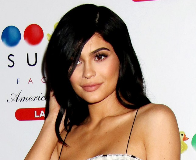 Mandatory Credit: Photo by Broadimage/REX/Shutterstock (8626702j) Kylie Jenner Sugar Factory American Brasserie opening, Las Vegas, USA - 22 Apr 2017 KYLIE JENNER Continues The Grand Opening Celebration Of Sugar Factory American Brasserie at the Fashion Show Mall