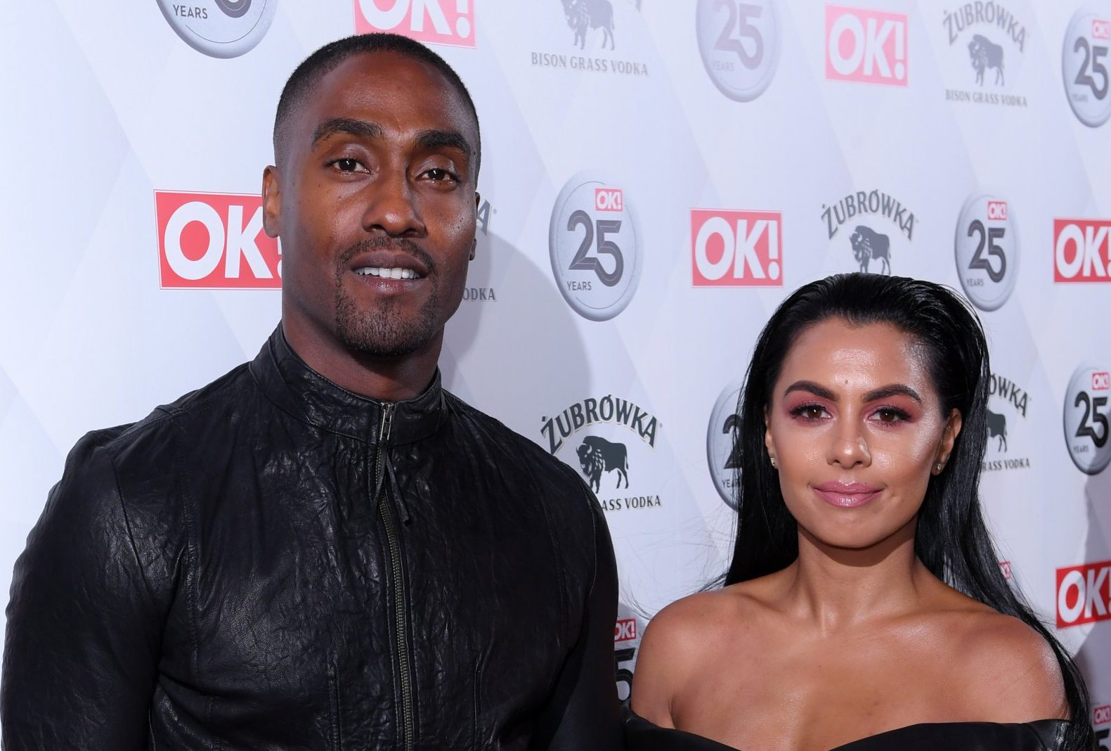 Mandatory Credit: Photo by David Fisher/REX/Shutterstock (9472660et) Simon Webbe and Ayshen Kemal OK! Magazine's 25th anniversary party, The Shard, London, UK - 21 Mar 2018