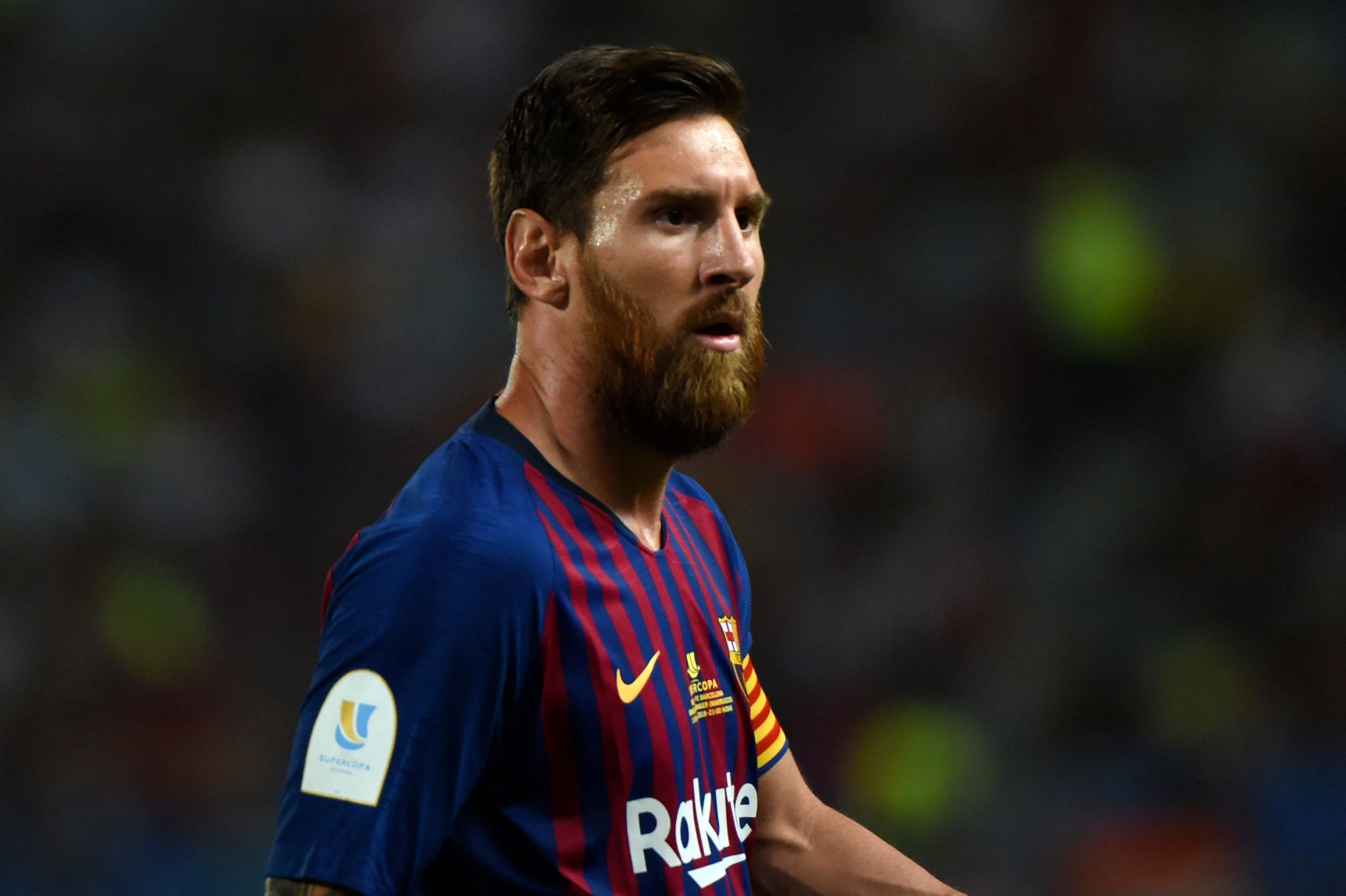Lionel Messi becomes Barcelona's most-decorated player in history with Spanish Super Cup win against Sevilla