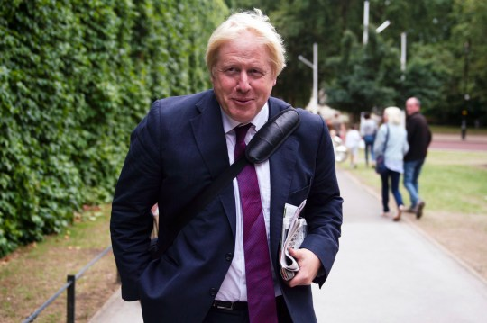 epa06948864 Former British Foreign Secretary Boris Johnson in Central London, Britain, 14 August 2018. Mr Johnson recently caused controversy after comments concerning the the burka and may face disciplinary action by the Conservative party. EPA/WILL OLIVER