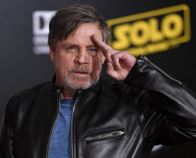 Mandatory Credit: Photo by Rob Latour/BEI/REX/Shutterstock (9667808gf) Mark Hamill 'Solo: A Star Wars Story' film premiere, Arrivals, Los Angeles, USA - 10 May 2018