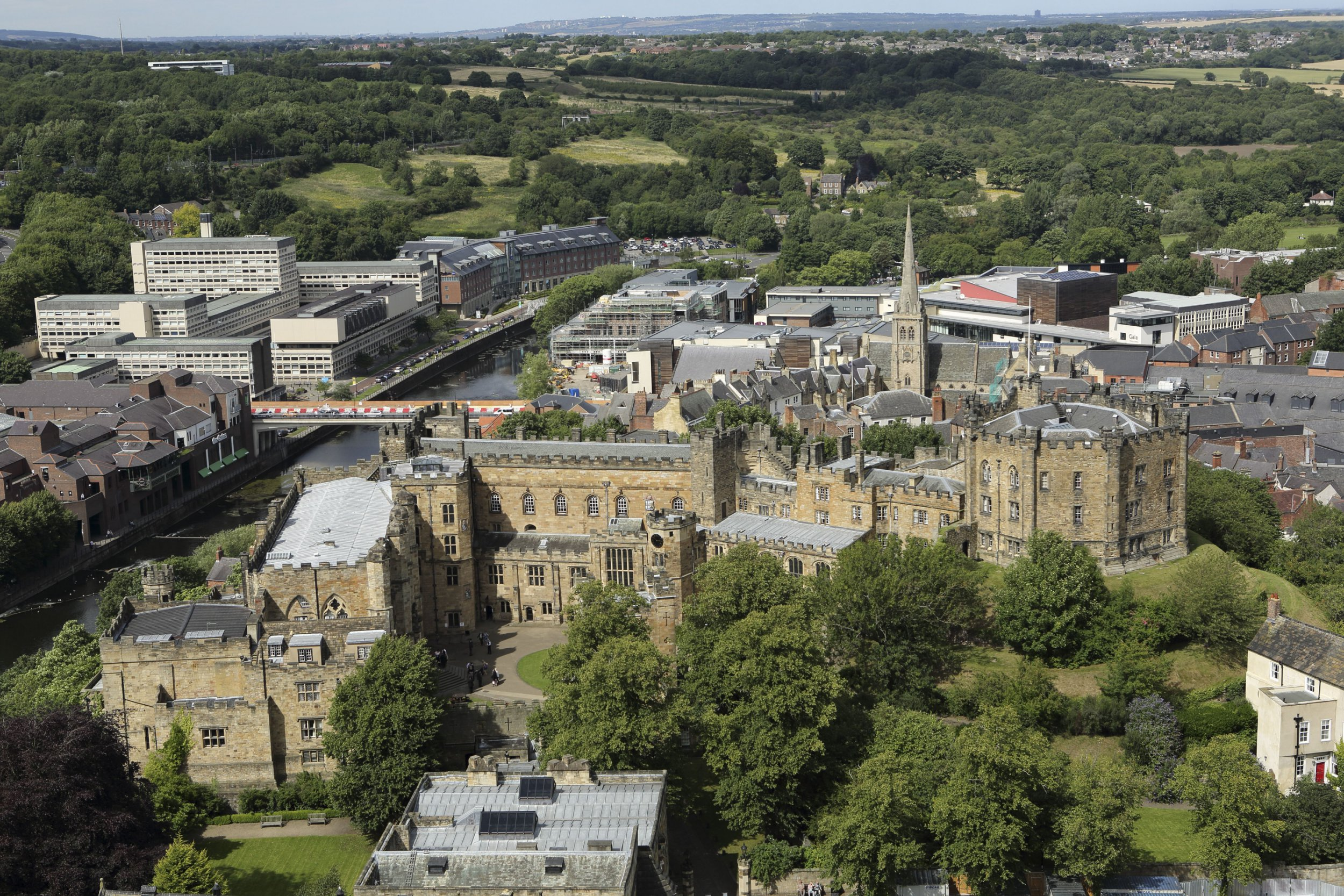 Mandatory Credit: Photo by Stuart Forster/REX/Shutterstock (4938403c) Durham Castle in Durham, England. The medieval fortress is a UNESCO World Heritage Site and part of Durham University. Durham, Britain - 08 Aug 2015