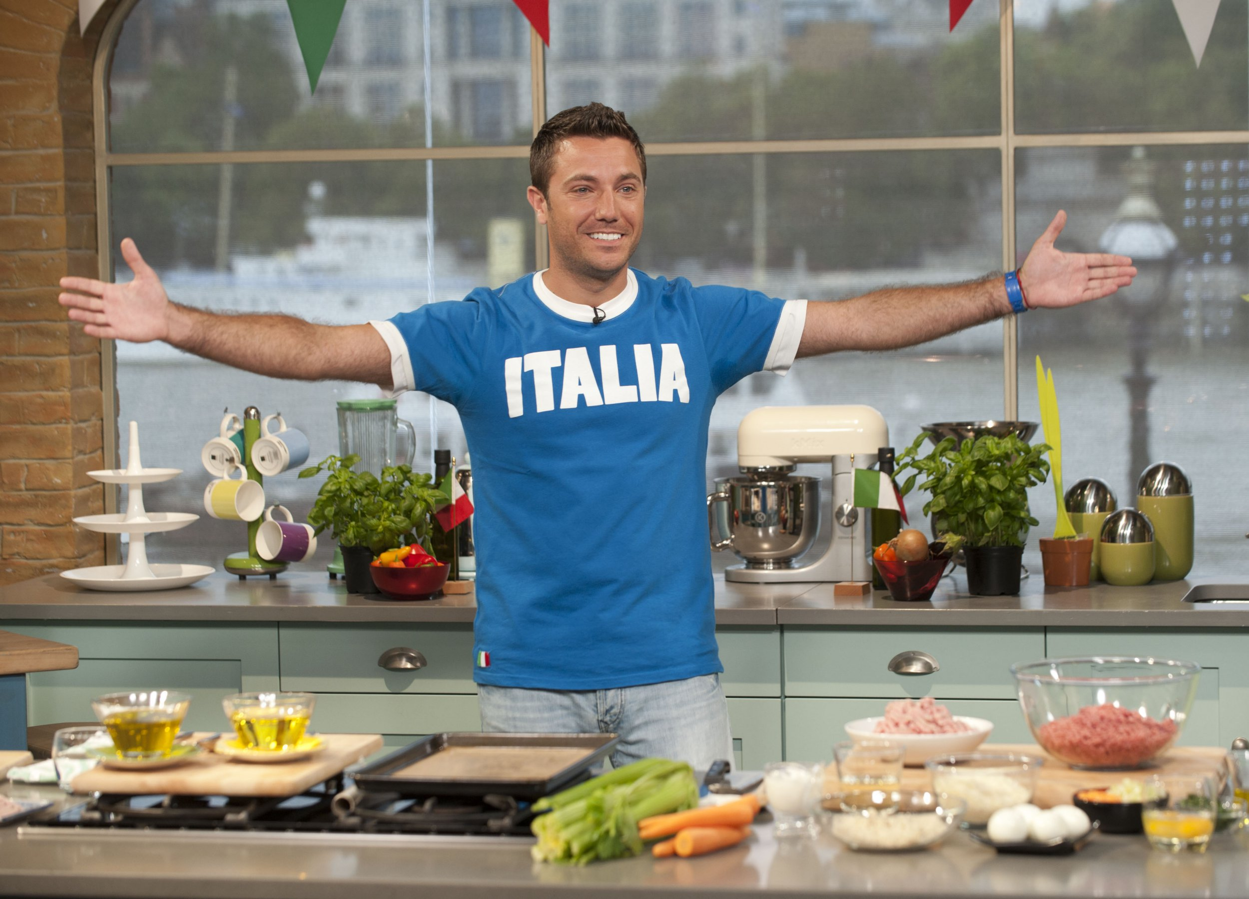 How did Gino D'Acampo bounce back from Paul Young burglary to being a well loved TV chef?