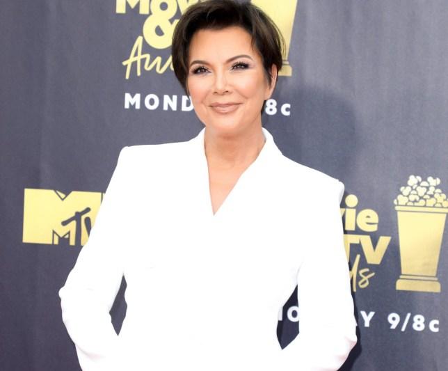 Mandatory Credit: Photo by Chelsea Lauren/REX/Shutterstock (9718369dy) Kris Jenner MTV Movie & TV Awards, Arrivals, Los Angeles, USA - 16 Jun 2018