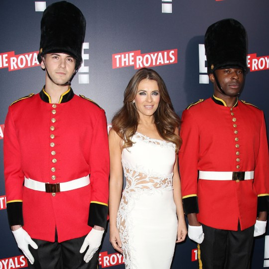 Mandatory Credit: Photo by Kristina Bumphrey/StarPix/REX/Shutterstock (5630730j) Elizabeth Hurley 'The Royals' TV series premiere, New York, America - 09 Mar 2015 New York Premiere Party for 'The Royals'