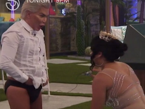 CBB's 'Human Ken Doll' Rodrigo Alves brags about 'huge package' during hot tub session