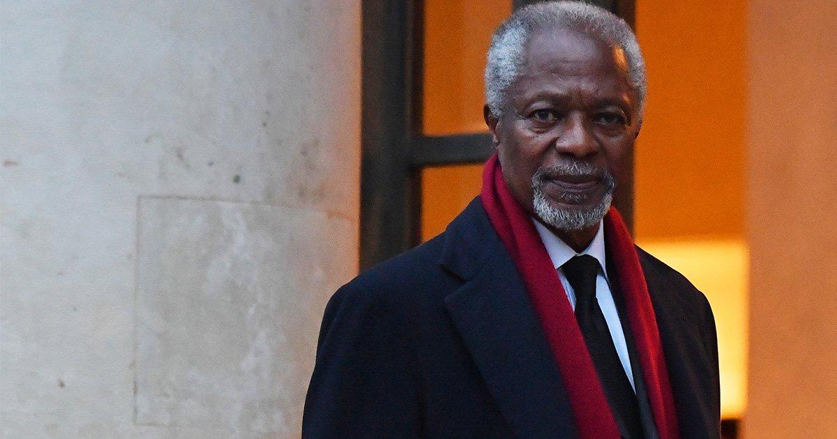 Former United Nations Secretary-General Kofi Annan dies aged 80