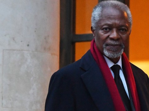 Former United Nations Secretary-General Kofi Annan dies aged 80