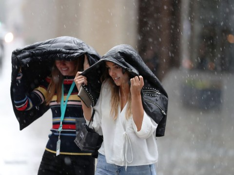 Say goodbye to the hot weather with wind, rain and thunder set to hit the UK