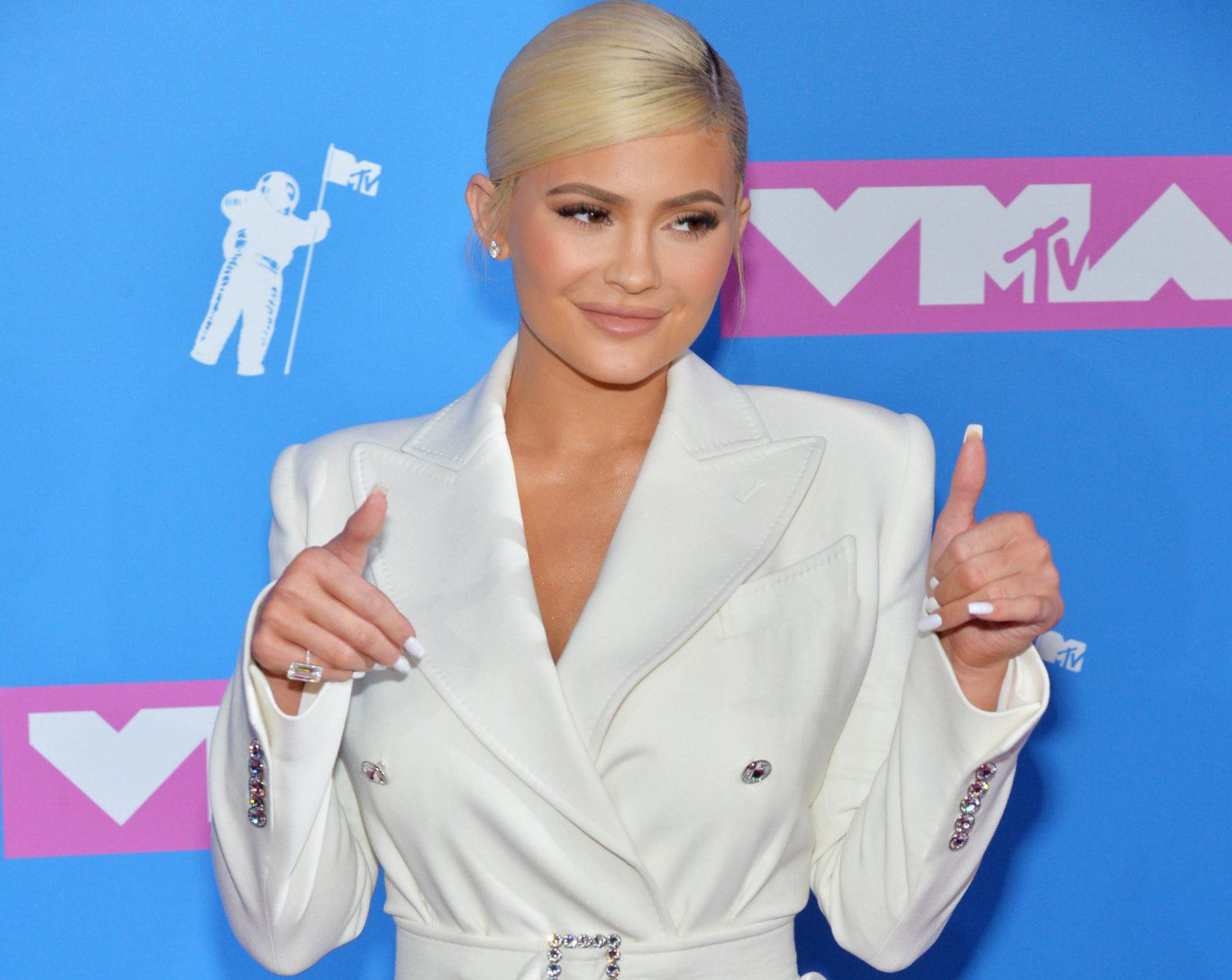 Mandatory Credit: Photo by REX/Shutterstock (9795338da) Kylie Jenner MTV Video Music Awards, Arrivals, New York, USA - 20 Aug 2018