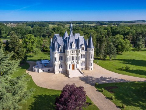 A 19th century chateau that looks like Disney's Cinderella Castle is on sale for £5million
