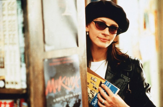 No Merchandising. Editorial Use Only. No Book Cover Usage. Mandatory Credit: Photo by Clive Coote/Polygram/Kobal/REX/Shutterstock (5884062s) Julia Roberts Notting Hill - 1999 Director: Roger Michell Polygram USA/UK Scene Still Comedy Coup de Foudre ? Notting Hill