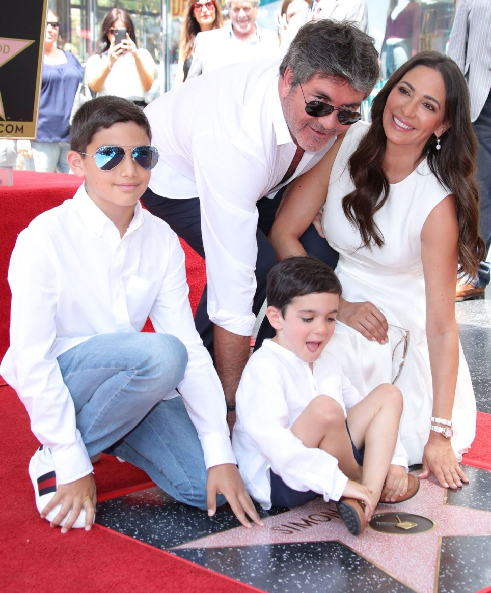 Mandatory Credit: Photo by Matt Baron/REX/Shutterstock (9799576bn) Simon Cowell, Lauren Silverman, Adam Silverman and Eric Cowell Simon Cowell honored with a Star on the Hollywood Walk of Fame, Los Angeles, USA - 22 Aug 2018