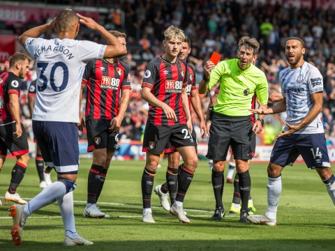 Marco Silva disappointed with Richarlison after Everton star sent off for headbutt