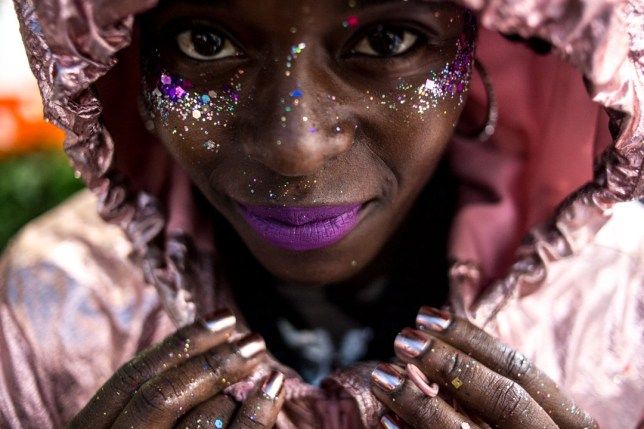 Beauty looks/portraits at Notting Hill Carnival Credit: Andr? Zuccolo