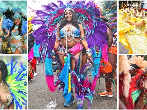 Notting Hill Carnival pictures reveal incredible and adventurous costumes