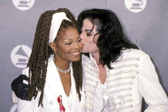 Michael Jackson Janet Jackson (Photo by Ron Galella/WireImage)