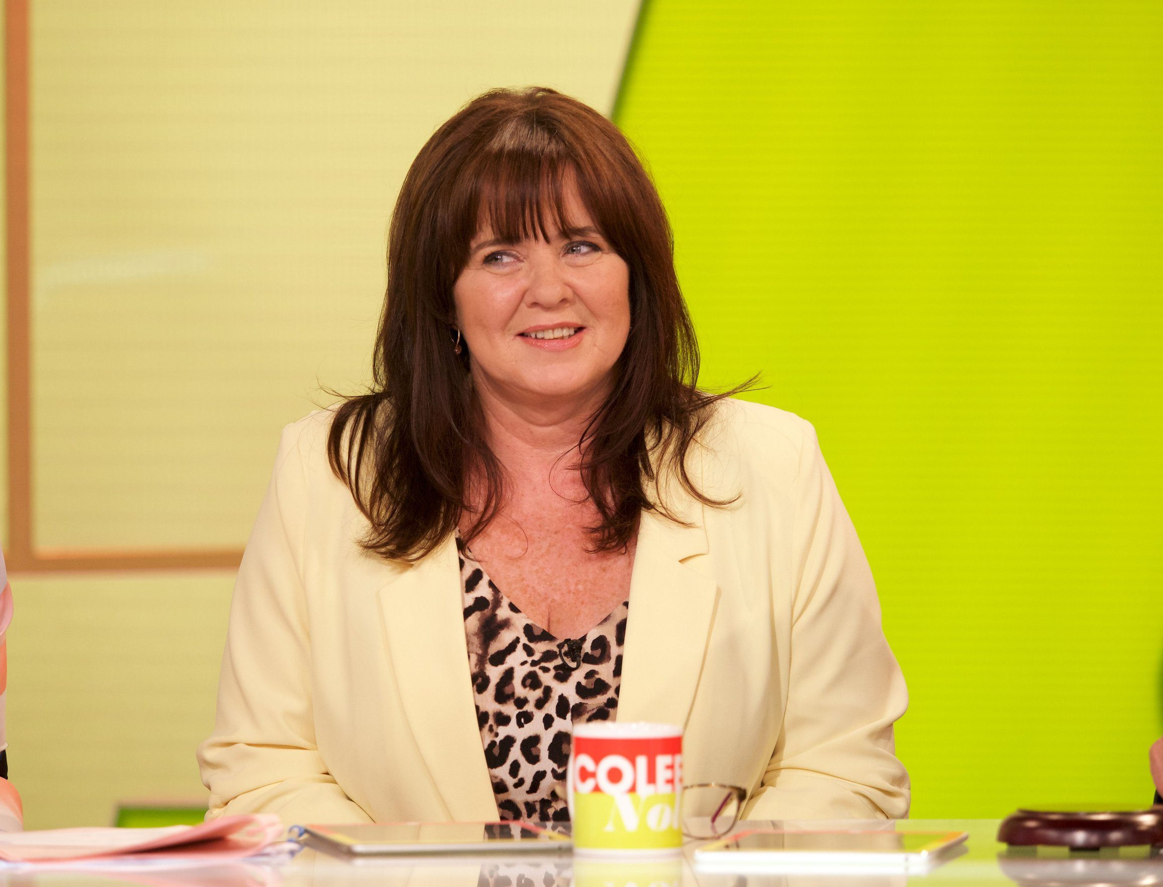 EDITORIAL USE ONLY. NO MERCHANDISING Mandatory Credit: Photo by Ken McKay/ITV/REX (9826674c) Coleen Nolan 'Loose Women' TV show, London, UK - 29 Aug 2018
