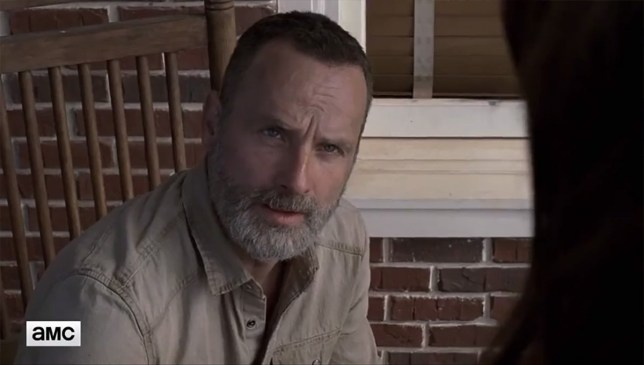 The Walking Dead season 9 trailer teases Maggie and Rick's joint exit Credit: AMC