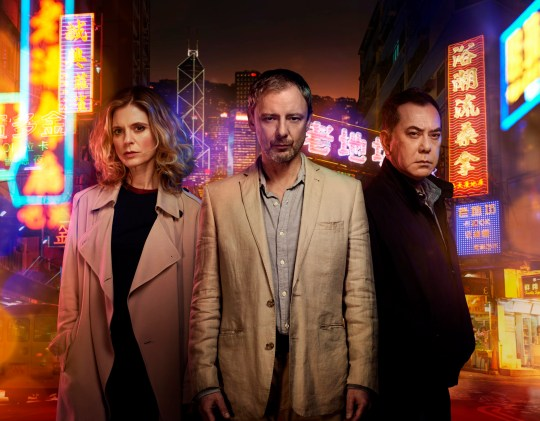 TWO BROTHER PICTURES FOR ITV STRANGERS EPISODE 1 PICTURED: JOHN SIMM as Jonah Mulray, ANTHONY WONG as David Chen and EMILIA FOX as Sally Porter. This photograph is (C) iTV and can only be reproduced for editorial purposes directly in connection with the programme or event mentioned above. Once made available by ITV plc Picture Desk, this photograph can be reproduced once only up until the transmission [TX] date and no reproduction fee will be charged. Any subsequent usage may incur a fee. This photograph must not be manipulated [excluding basic cropping] in a manner which alters the visual appearance of the person photographed deemed detrimental or inappropriate by ITV plc Picture Desk. This photograph must not be syndicated to any other company, publication or website, or permanently archived, without the express written permission of ITV Plc Picture Desk. Full Terms and conditions are available on the website www.itvpictures.com For further information please contact: Patrick.smith@itv.com 0207 1573044