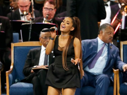 Ariana Grande performs A Natural Woman in moving tribute at Aretha Franklin's funeral