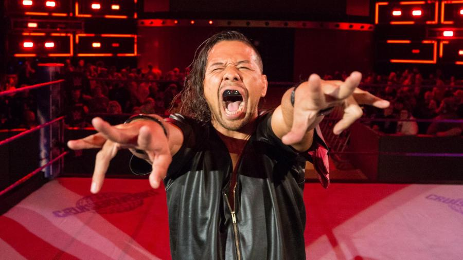 Shinsuke Nakamura cried after wrestling Brock Lesnar in 2006