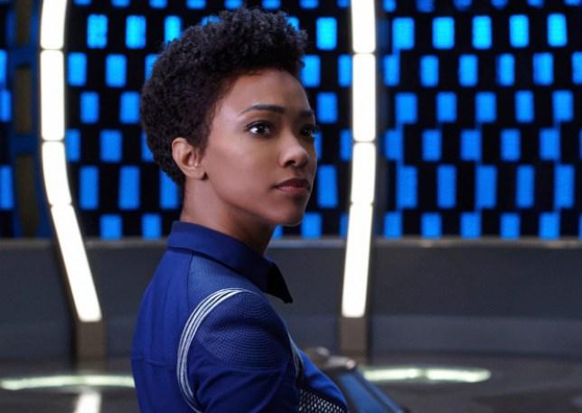 Sonequa Martin-Green in Stark Trek: Discovery