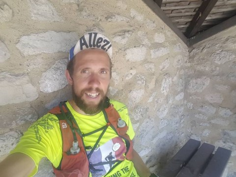 Meet the man who ran the entire Tour de France route to raise money for mental health charities