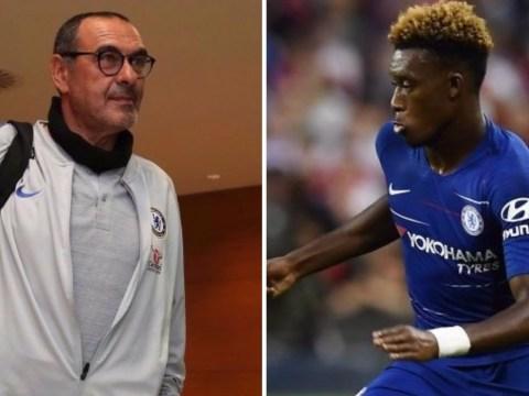 Maurizio Sarri talks up Callum Hudson-Odoi ahead of Manchester City clash