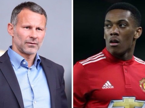 Anthony Martial must 'fight' for starting spot at Manchester United, says Ryan Giggs