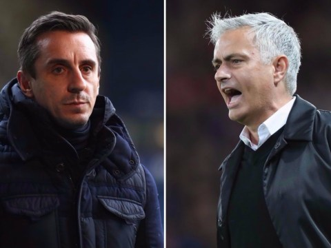 Manchester United should not sack Jose Mourinho, says Gary Neville